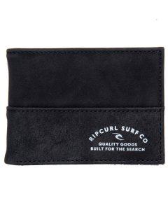 Rip Curl ARCHER RFID PU SLIM black pánská značková peněženka – černá