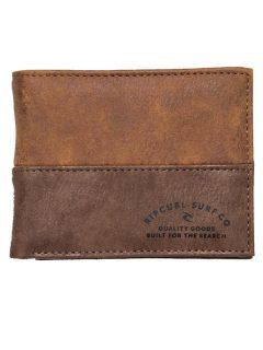Rip Curl ARCHER RFID PU ALL D brown pánská značková peněženka – hnědá