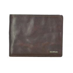 Peněženka Strellson Jefferson Billfold H8 Dark brown