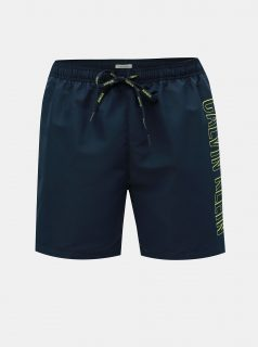 Tmavě modré pánské plavky Calvin Klein Underwear