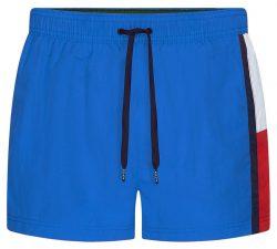 Tommy Hilfiger modré pánské plavky Short Drawstring