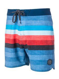 Rip Curl RETRO HEY MAMA 16 blue pánské kraťasové plavky – modrá