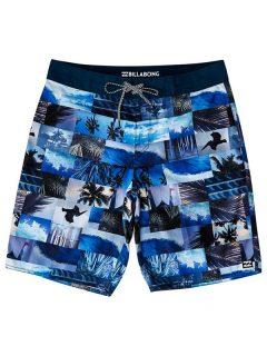 Billabong HORIZON OG NAVY pánské kraťasové plavky – modrá