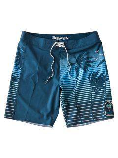 Billabong DBAH AIRLITE dark blue pánské kraťasové plavky – modrá