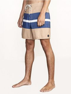 RVCA WESTPORT TRUNK HONEY pánské kraťasové plavky – béžová