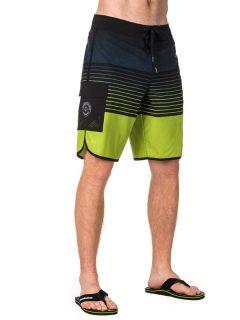Horsefeathers FOAMER green pánské kraťasové plavky