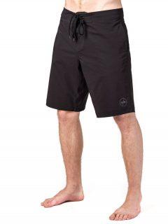 Horsefeathers NIMBUS MAX black pánské kraťasové plavky – černá