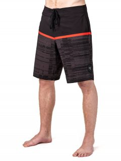 Horsefeathers NIMBUS black pánské kraťasové plavky – černá