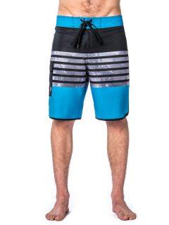 Horsefeathers GUS blue pánské kraťasové plavky – modrá