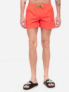 Pánské plavky F02T00TEL27-G334 oranžová – Guess oranžová