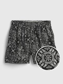 Černé pánské trenýrky print boxers