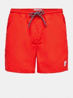 Červené plavky ONLY & SONS