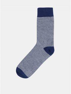 Modré ponožky Selected Homme Fine