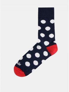 Tmavě modré puntíkované ponožky Fusakle Guličkár fešák