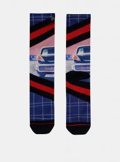 Červeno-modré pánské ponožky XPOOOS