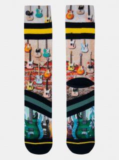 Hnědé pánské ponožky XPOOOS
