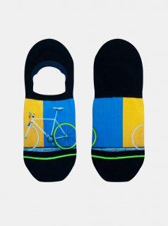 Černé pánské nízké ponožky XPOOOS