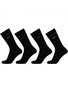 4PACK ponožky CR7 černé