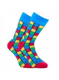 Veselé ponožky Styx vysoké art kostky