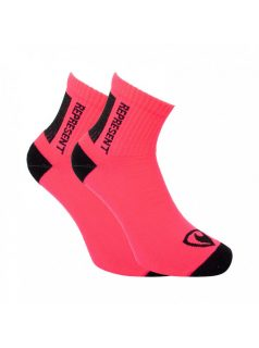 Ponožky Represent long simply logo pink
