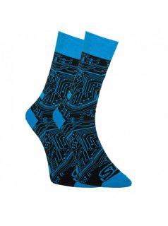 Veselé ponožky Styx vysoké tišťák