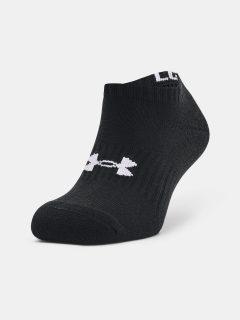 Ponožky Under Armour Core No Show 3Pk – černá