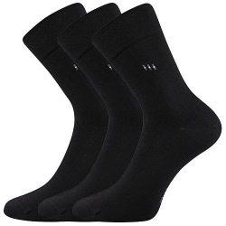 3PACK ponožky Lonka černé