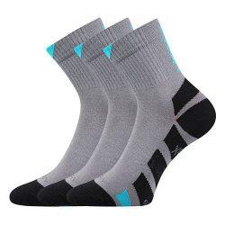 3PACK ponožky VoXX šedé
