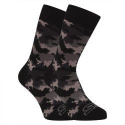 Veselé ponožky Styx vysoké maskáč