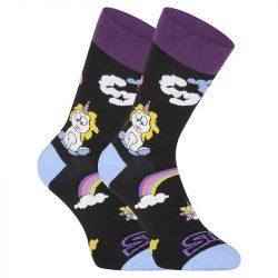 Veselé ponožky Styx vysoké Unicorn