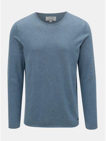 Modrý pánský lehký svetr Tom Tailor Denim - Pánské svetry d7e5b23d71
