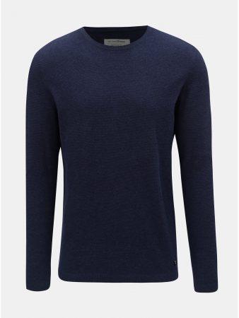 Tmavě modrý pánský lehký svetr Tom Tailor Denim - Pánské svetry a3c4da4bab
