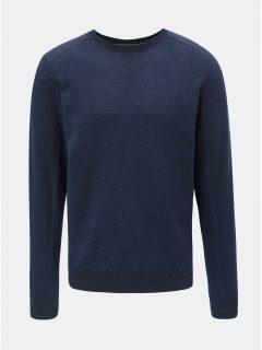 Tmavě modrý pánský svetr Tom Tailor