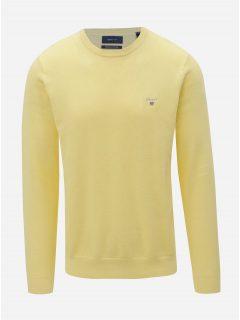 Žlutý pánský svetr GANT