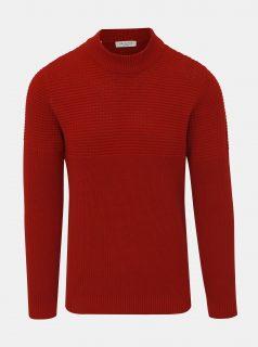 Červený svetr Selected Homme Bubble