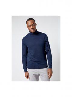 Tmavě modrý basic rolák Burton Menswear London