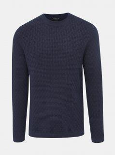 Tmavě modrý svetr Selected Homme Kent