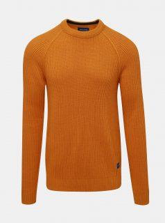 Oranžový svetr Jack & Jones Pannel