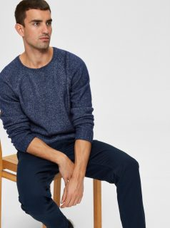 Modrý svetr Selected Homme-Marc