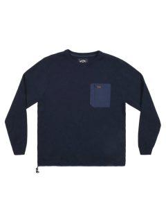Billabong TERRY NAVY svetr pánský – modrá