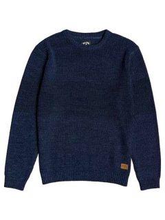 Billabong TRIBONG NAVY svetr pánský – modrá