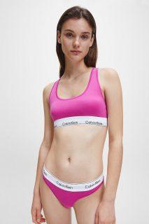 Calvin Klein růžová podprsenka Unlined Bralette