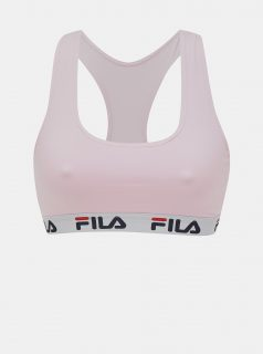 Růžová podprsenka FILA