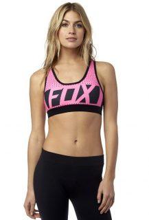 Fox LIBRA BRA Neon Pink podprsenka – růžová