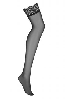 Koketní punčochy Laluna stockings – Obsessive černá