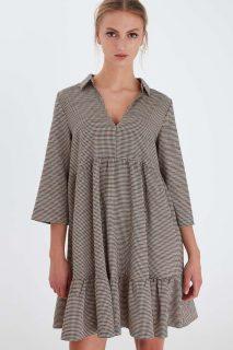 Ichi béžové šaty Ihfelician