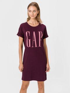 Fialové dámské šaty GAP Logo