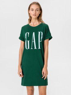 Zelené dámské šaty GAP Logo
