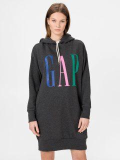 Šedé dámské šaty GAP Logo