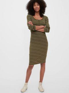 Zelené dámské šaty GAP